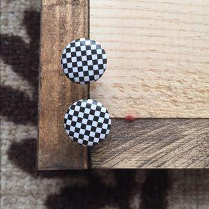 Jewelry - Checkered earrings